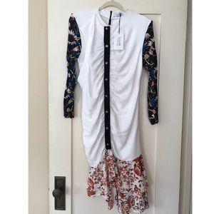 J.W. Anderson Dresses - New with Tag J. W. Anderson ruffled hem dress